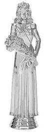 Silver Queen Figure