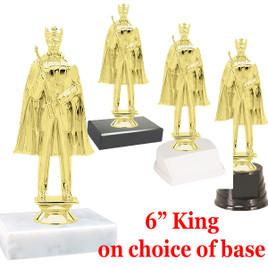 "6"" King figure on choice of base"