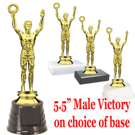 """5 1/2"""" Male Victory on choice of base."""