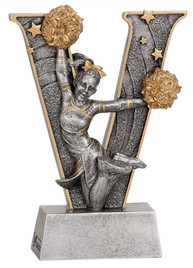 "5"" Resin Cheer Trophy   DISCONTINUED"