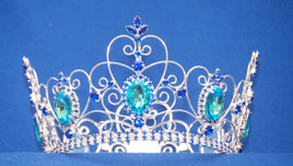 "3.75"" Round crown with 6"" diameter.  Great for girls or boys!"