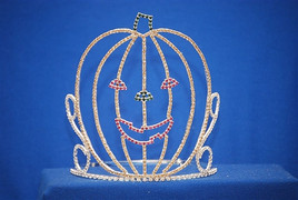 "6-7"" Pumpkin crown with adjustable band"