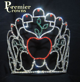 "7"" apple tiara with adjustable band       CR-A005"