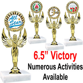 """6 1/2"""" Victory with insert.  Numerous Activities/Sports available"""