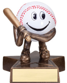"Adorable Participation Trophy!  4"" Tall with free engraving."