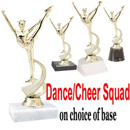 "7"" Dance/Cheer Squad figure on choice of base  (TR-MF4536)"