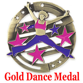 Gold Dance Medal (005)