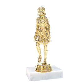 "5""  Irish Dancer  Trophy with choice of base (P607)"