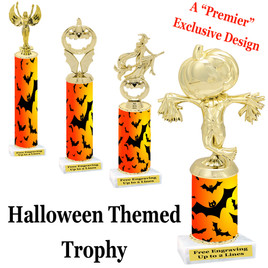 Premier exclusive Halloween trophy.  Choice of trophy height, base and figure.  (sub-hall01)