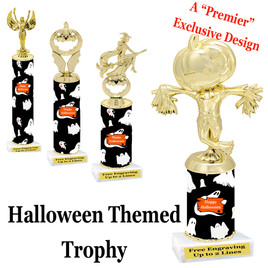 Premier exclusive Halloween trophy.  Choice of trophy height, base and figure.  (sub-hall02)