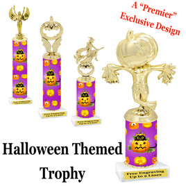 Premier exclusive Halloween trophy.  Choice of trophy height, base and figure.  (sub-hall03)
