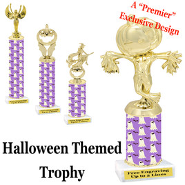 Premier exclusive Halloween trophy.  Choice of trophy height, base and figure.  (sub-hall04)