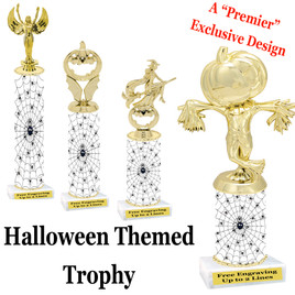 Premier exclusive Halloween trophy.  Choice of trophy height, base and figure.  (sub-hall05)