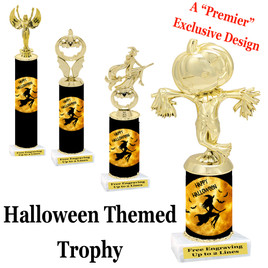 Premier exclusive Halloween trophy.  Choice of trophy height, base and figure.  (sub-hall06)