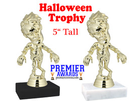 "5"" tall Ghoul/Zombie Trophy with choice of base"