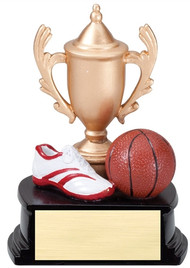 "Resin Cup and Theme Trophy  5"" tall TR-RCT03"