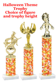 Premier exclusive Halloween trophy.  Choice of trophy height, base and figure.  (sub-hall-32