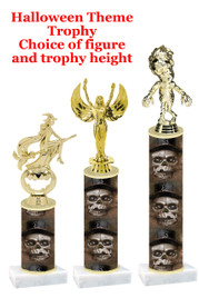 Premier exclusive Halloween trophy.  Choice of trophy height, base and figure.  (sub-hall-34