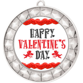 Valentine theme medal..  Includes free engraving and neck ribbon.   vday-935s