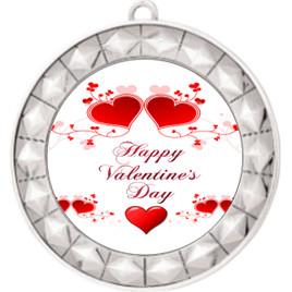 Valentine theme medal..  Includes free engraving and neck ribbon.   vday2-935s