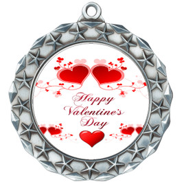 Valentine theme medal..  Includes free engraving and neck ribbon.   vday2-md40s