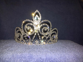"3.125"" tall crown with side combs (zh007)"