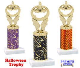 Jack-O-Lantern Trophy.  Numerous colors and trophy heights available