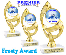 Frosty Award for your Snowman building contests!