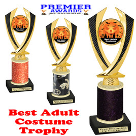 Halloween Costume Contest trophy.  Best Adult Costume.  Perfect award for your Halloween party contest.