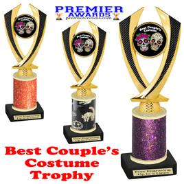 Halloween Costume Contest trophy.  Best  Couple's Costume.  Perfect award for your Halloween party contest.