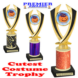 Halloween Costume Contest trophy.  Cutest Costume.  Perfect award for your Halloween party contest.