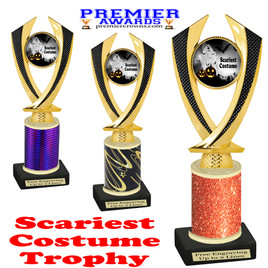 Halloween Costume Contest trophy.  Scariest Costume.  Perfect award for your Halloween party contest.