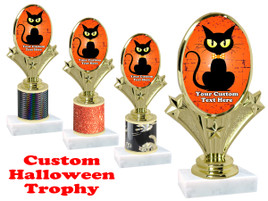 Custom Halloween trophy.   Perfect award for your Halloween pageants, contests and parties