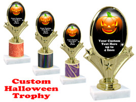 Custom Halloween trophy.   Perfect award for your Halloween pageants, contests and parties. (002