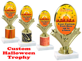 Custom Halloween trophy.   Perfect award for your Halloween pageants, contests and parties. (003