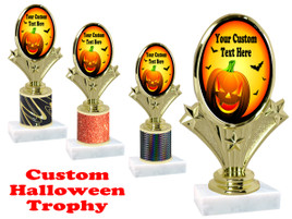 Custom Halloween trophy.   Perfect award for your Halloween pageants, contests and parties. (004