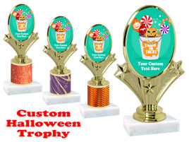 Custom Halloween trophy.   Perfect award for your Halloween pageants, contests and parties. (005