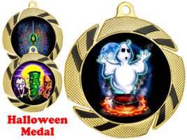Halloween Theme medal.  Great for your Halloween events, pageants, parties and more!