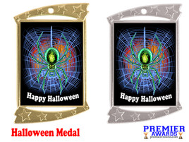 Halloween medal.  Perfect for your Halloween events, pageants, and contests!  002