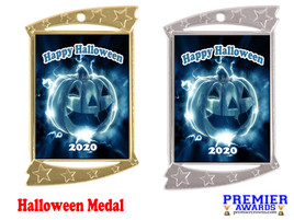 Halloween medal.  Perfect for your Halloween events, pageants, and contests!  003