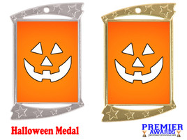 Halloween medal.  Perfect for your Halloween events, pageants, and contests!  004