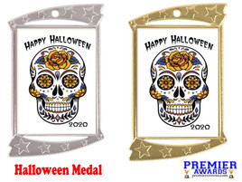 Halloween medal.  Perfect for your Halloween events, pageants, and contests!  006