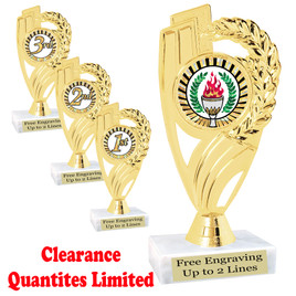 Discontinued  Trophy.  Quantities are limited.  ph82