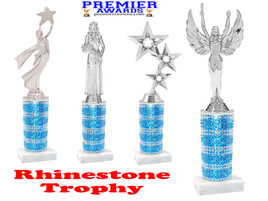Rhinestone trophy.  Add some bling to your pageants, contests, events and more!  002