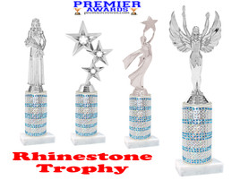 Rhinestone trophy.  Add some bling to your pageants, contests, events and more!  003