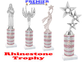 Rhinestone trophy.  Add some bling to your pageants, contests, events and more!  004