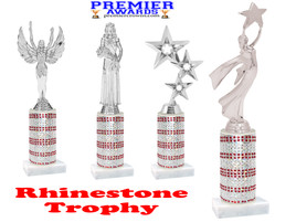 Rhinestone trophy.  Add some bling to your pageants, contests, events and more!  005