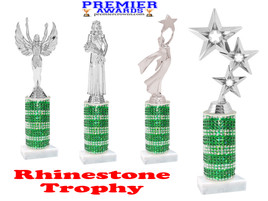 Rhinestone trophy.  Add some bling to your pageants, contests, events and more!  006