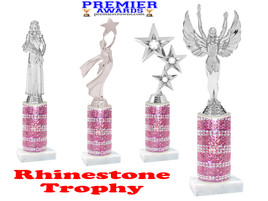 Rhinestone trophy.  Add some bling to your pageants, contests, events and more!  007