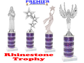 Rhinestone trophy.  Add some bling to your pageants, contests, events and more!  008